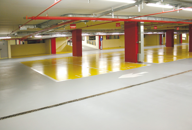 Epoxy/PU Flooring Curving