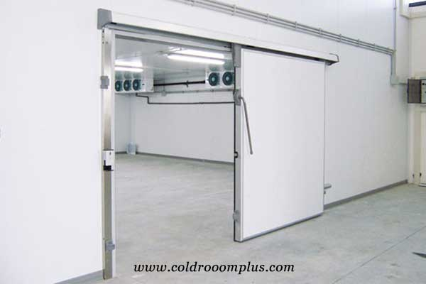 Industrial Single Manual Sliding Door